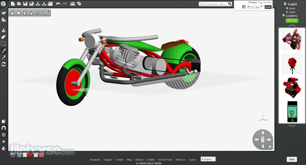 3DTin Screenshot 5