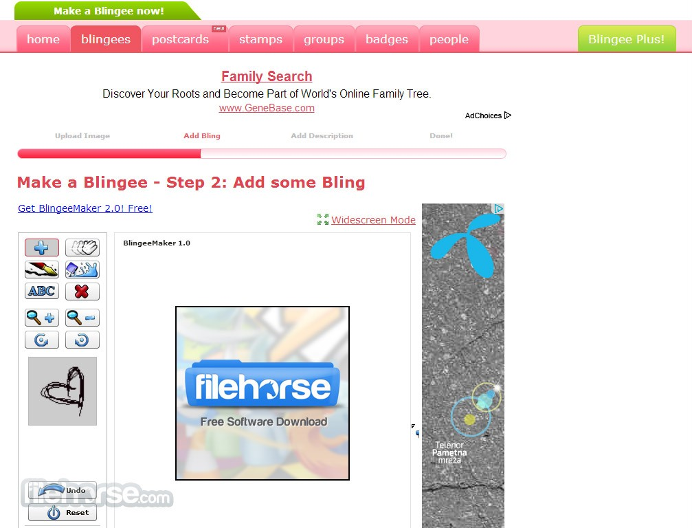 Blingee Screenshot 3