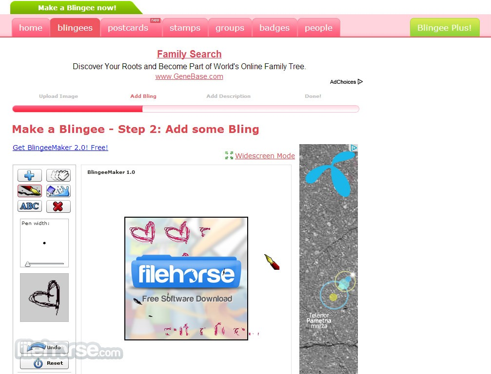 Blingee Screenshot 4