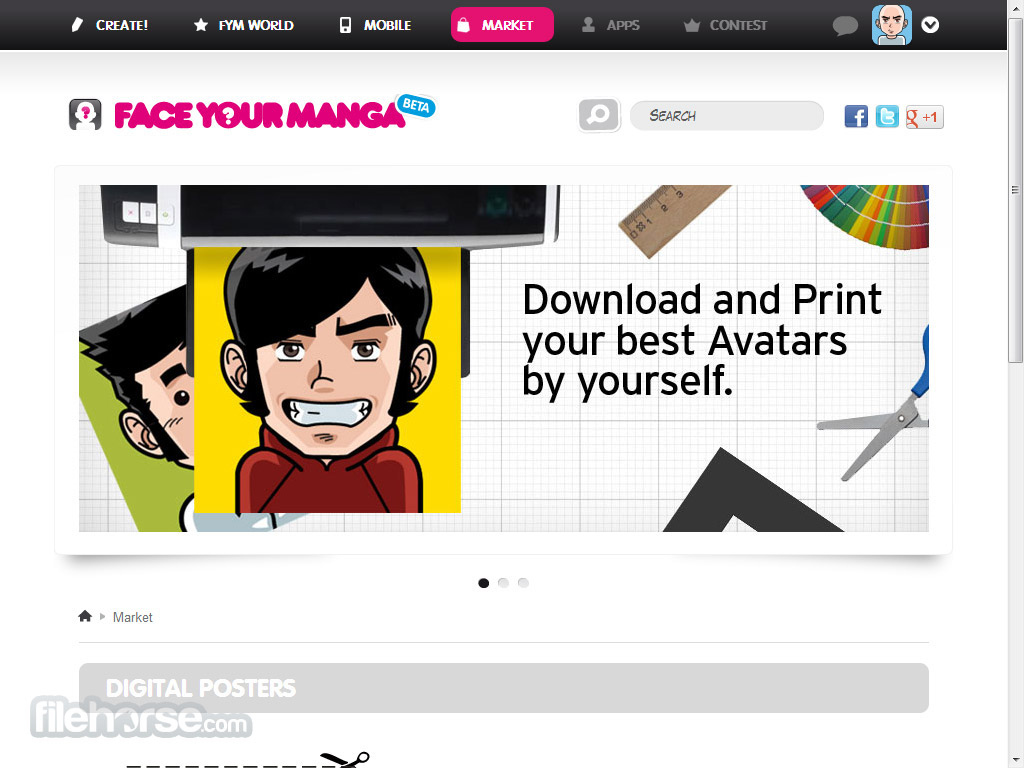 FaceYourManga Screenshot 3