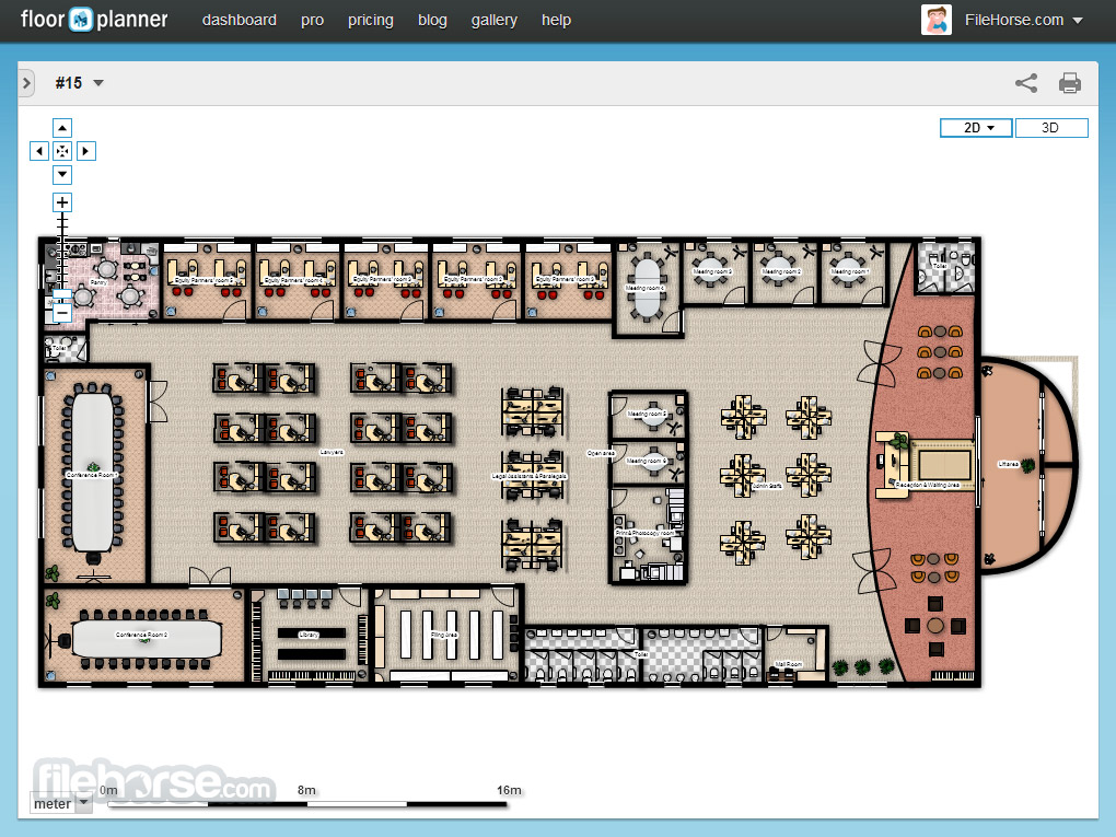 Floorplanner Screenshot 1