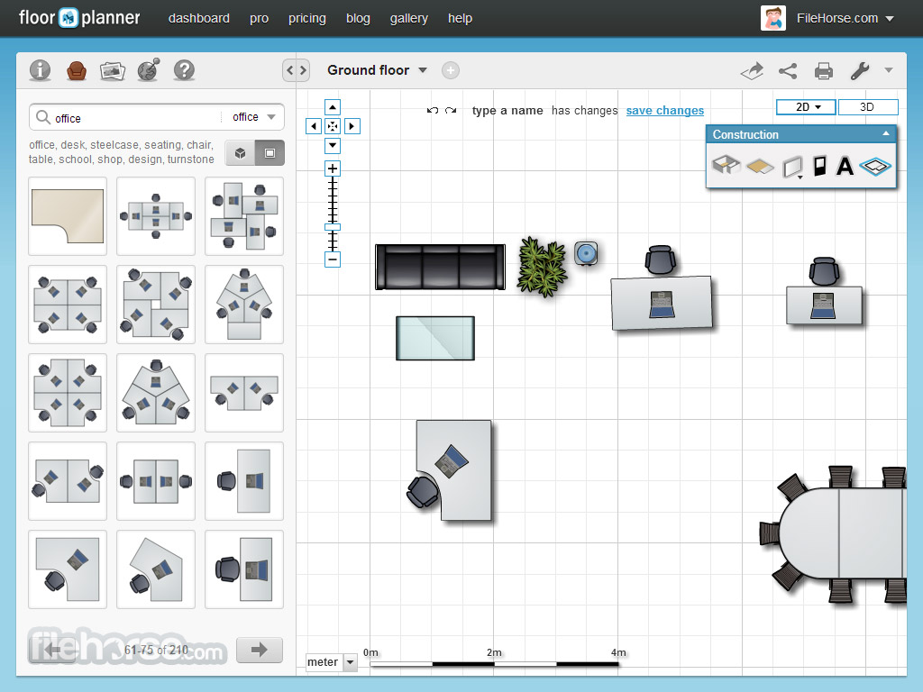 Floorplanner best way to create and share interactive for Interactive floor plan software