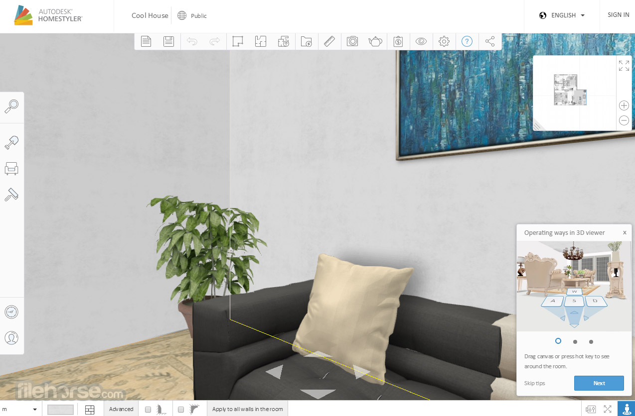 Autodesk Homestyler Screenshot 2