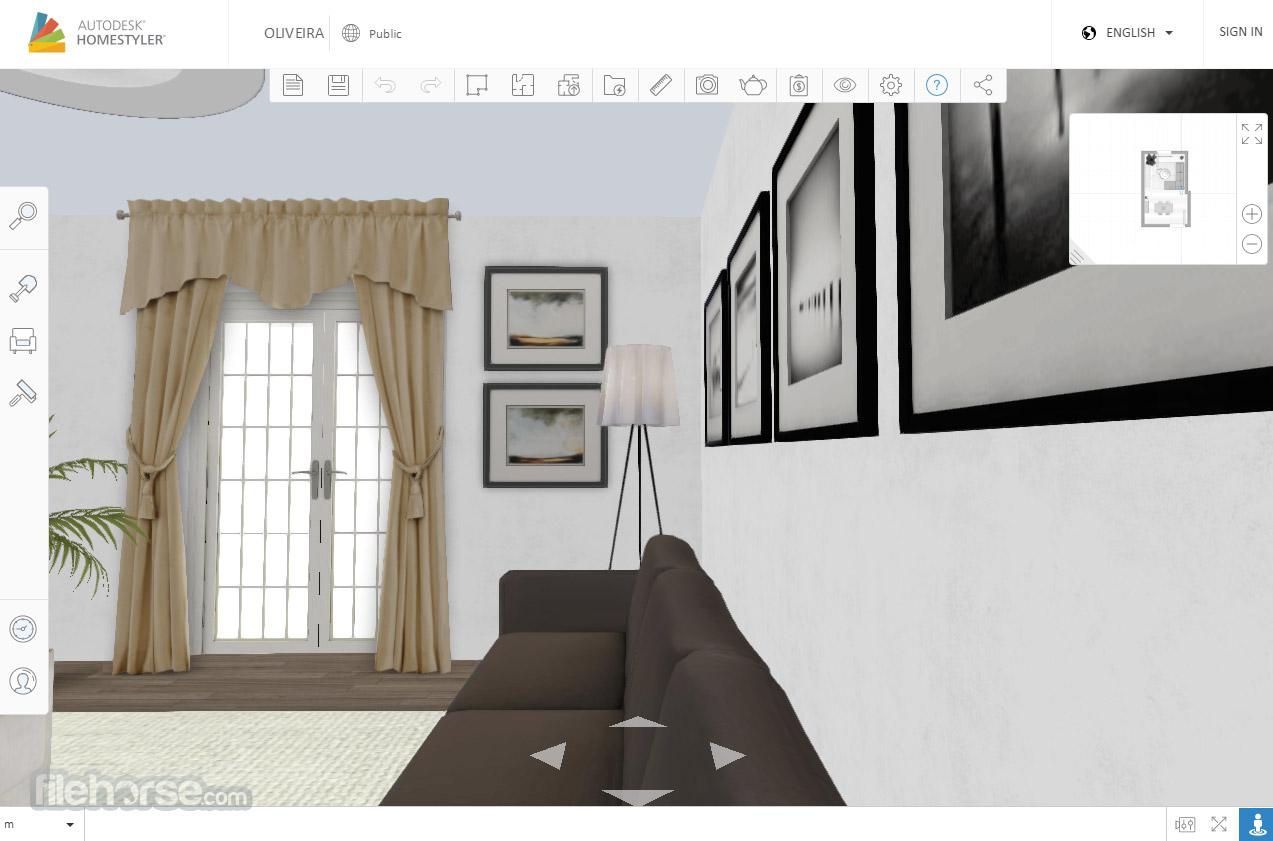 Autodesk Homestyler Captura de Pantalla 3