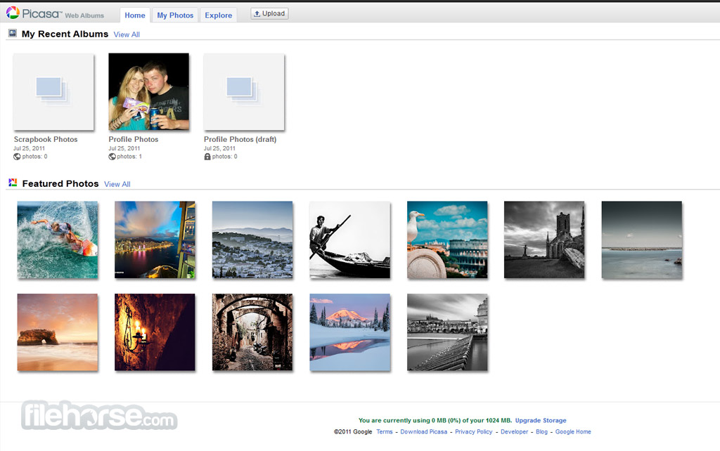 Picasa Web Albums Screenshot 1