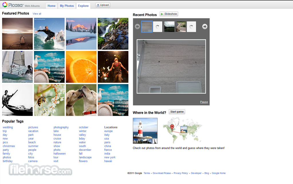 Picasa Web Albums Screenshot 3