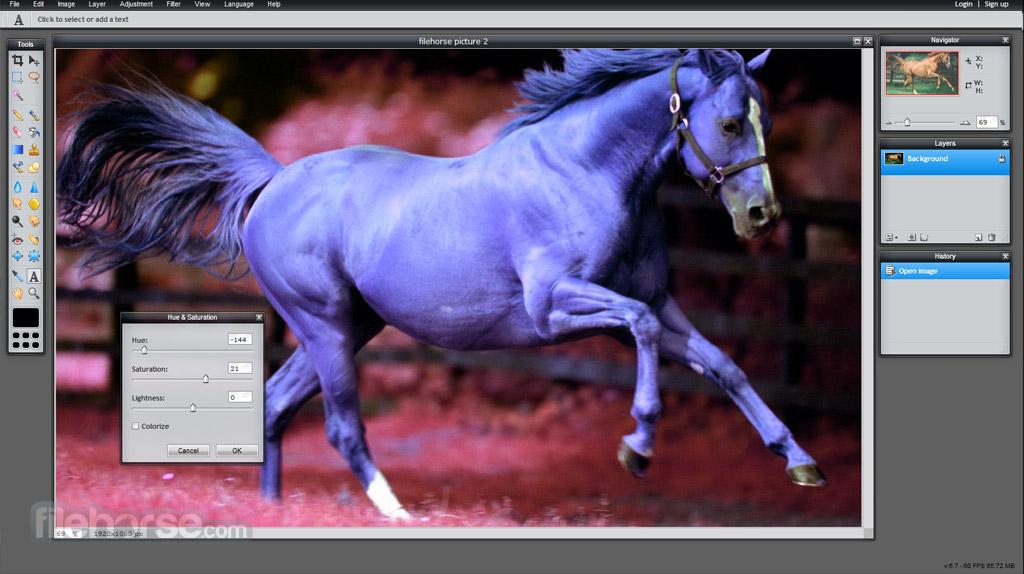 Pixlr Editor Screenshot 3