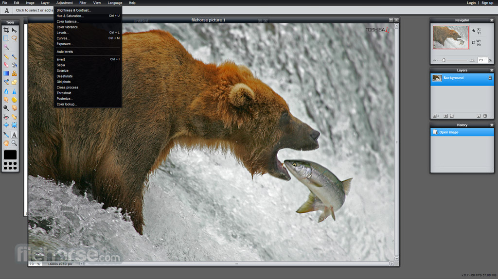 Pixlr Editor Screenshot 5