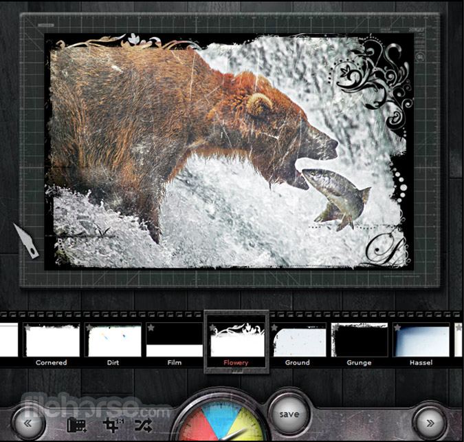 Pixlr-o-matic Screenshot 4