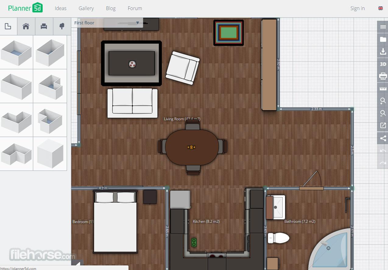Planner 5D Screenshot 1
