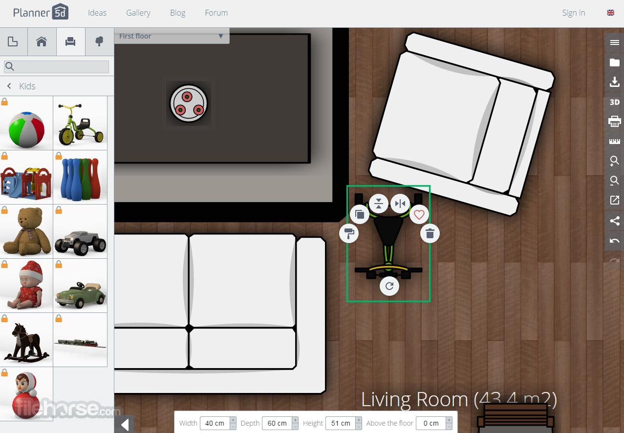 Planner 5d crear hermosos planos y dise os de interiores for Hacer planos en linea