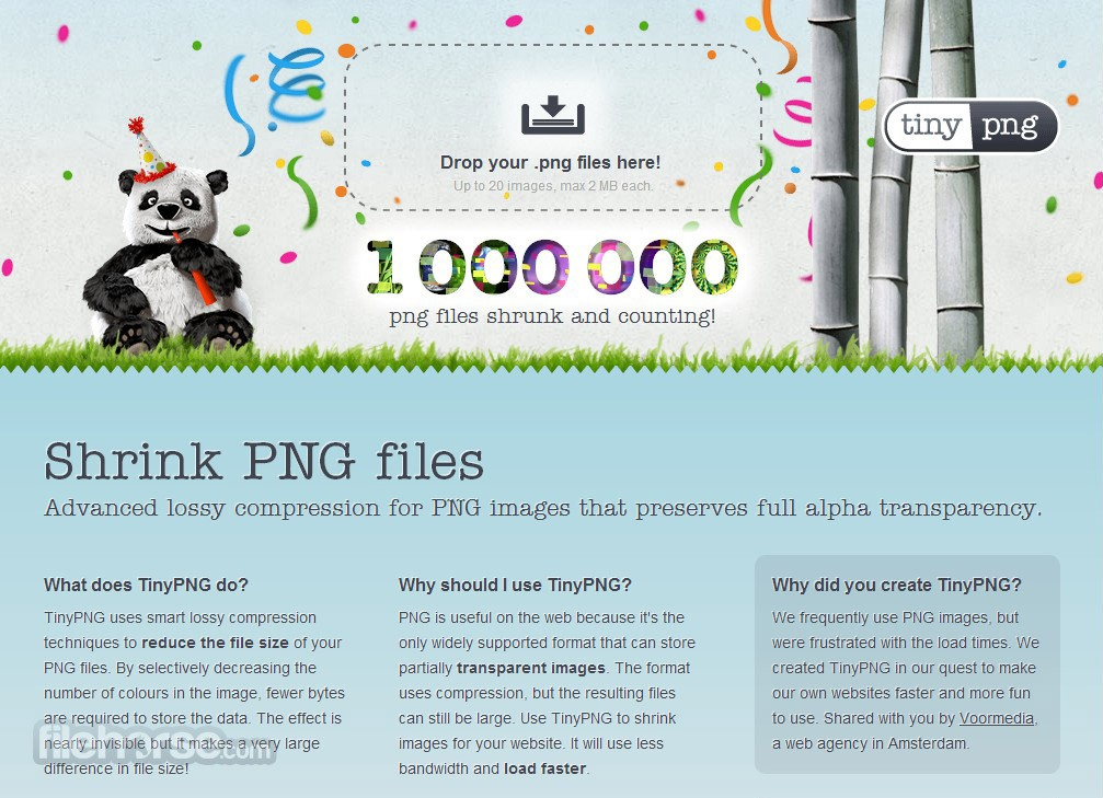 TinyPNG Screenshot 1