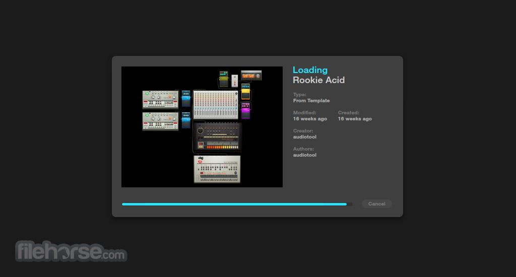 Audiotool Screenshot 1