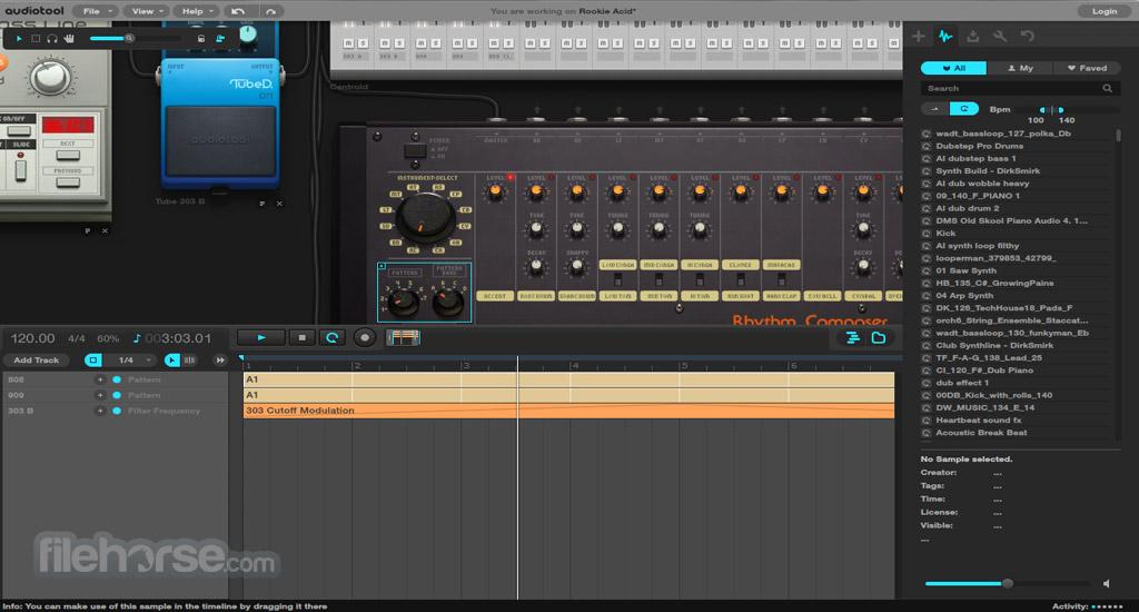 Audiotool Screenshot 3