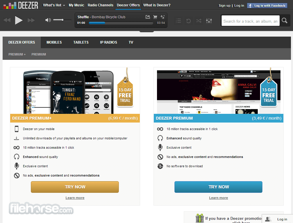 Deezer Screenshot 5