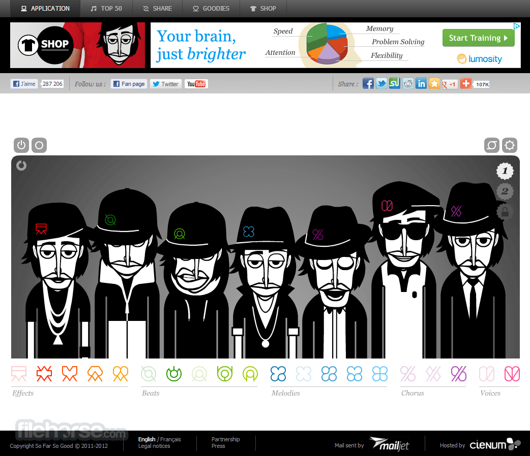 Incredibox Captura de Pantalla 1