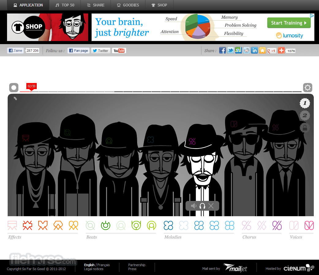 Incredibox Captura de Pantalla 2