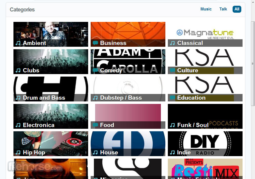 Mixcloud Screenshot 4