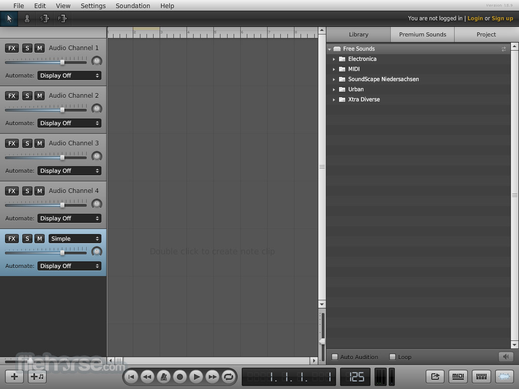 Soundation Screenshot 3