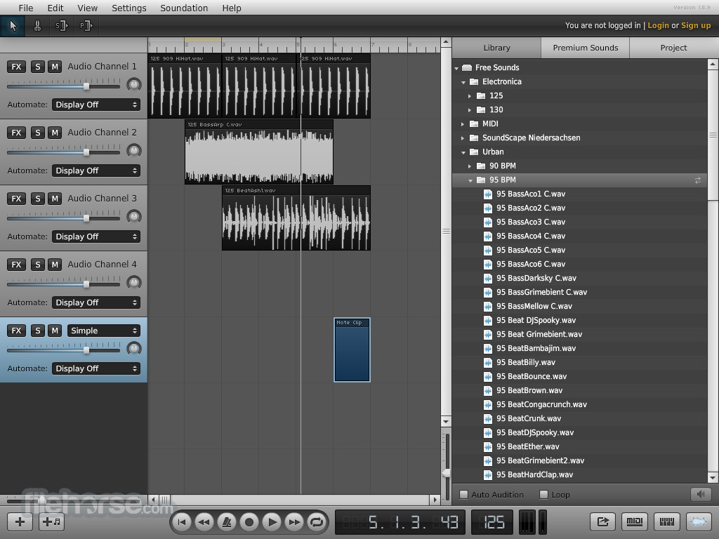 Soundation Screenshot 4