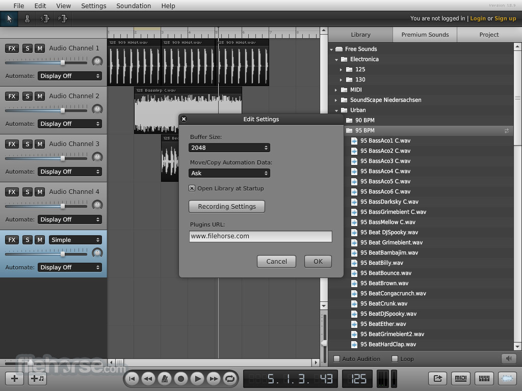 Soundation Screenshot 5
