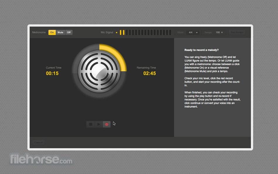 UJAM Studio Screenshot 1