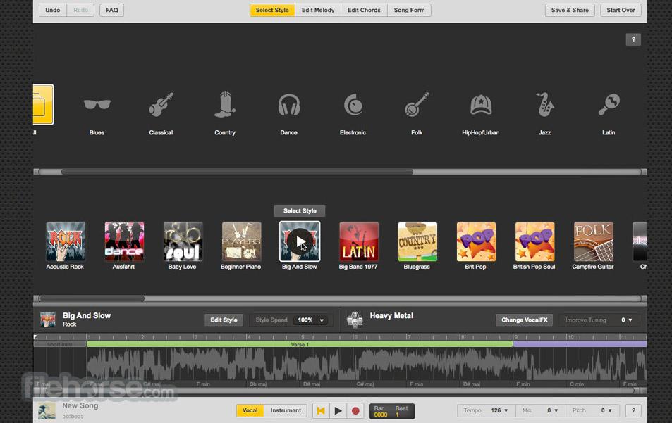 UJAM Studio Screenshot 2