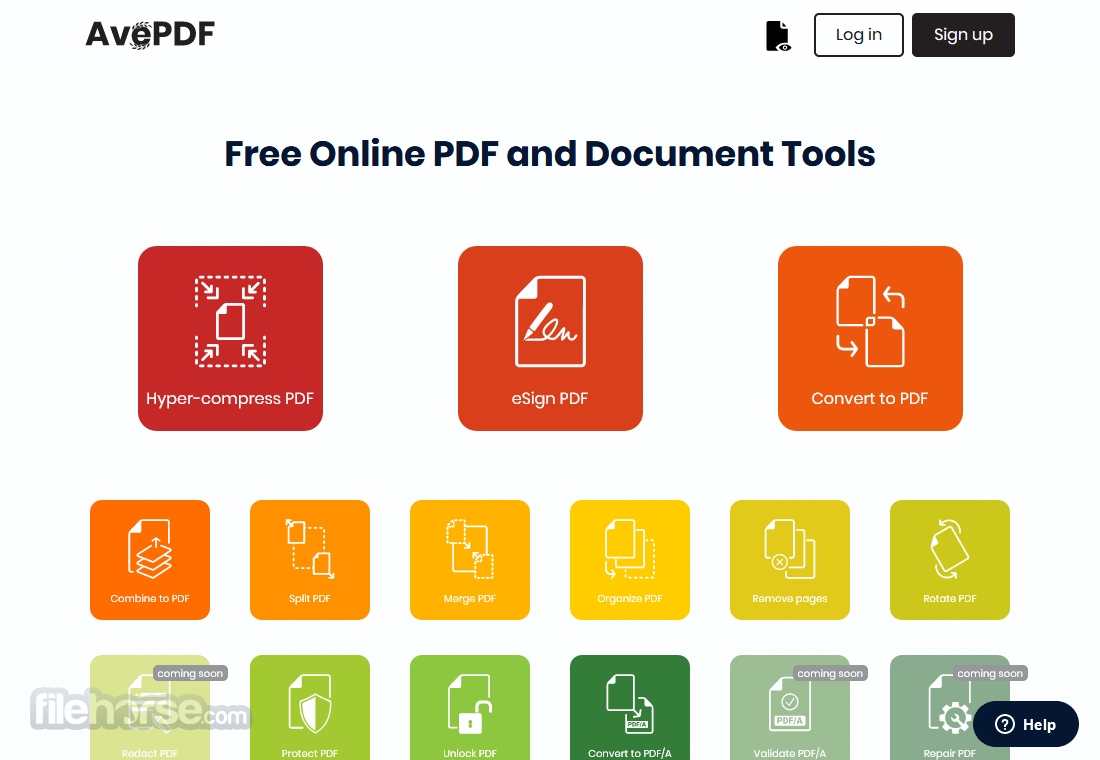 AvePDF Screenshot 1