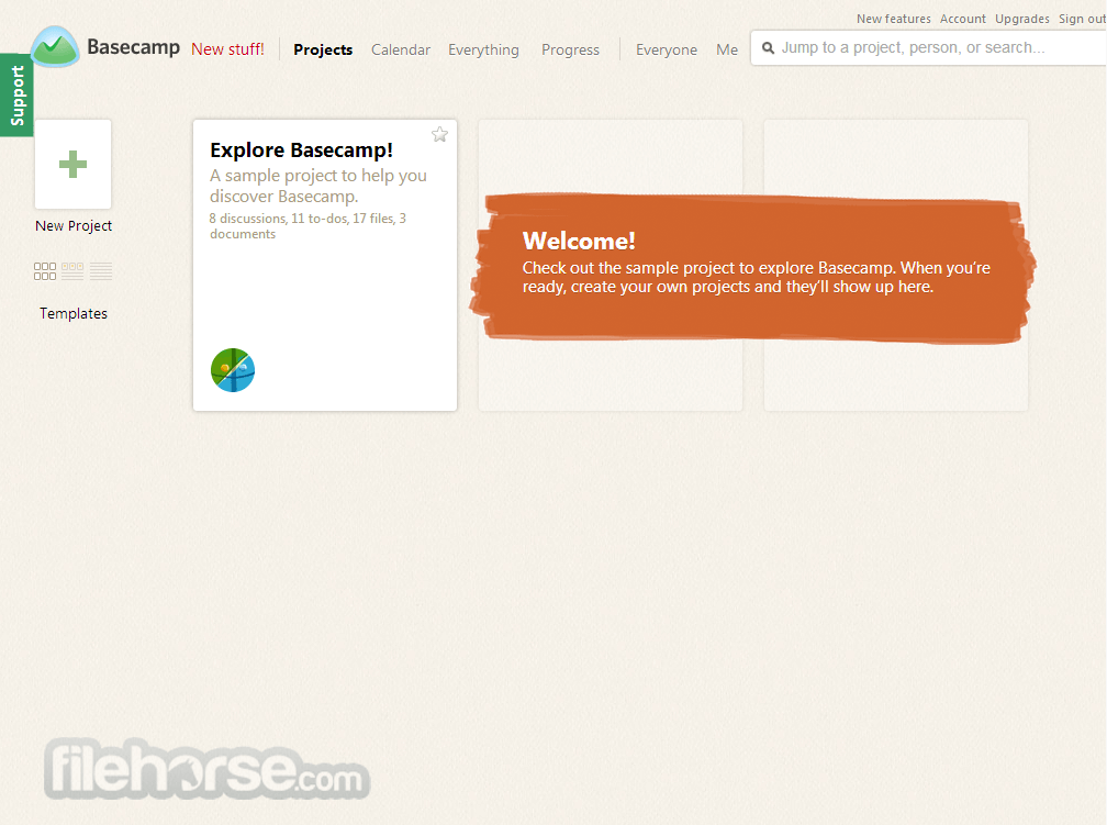 Basecamp Screenshot 2