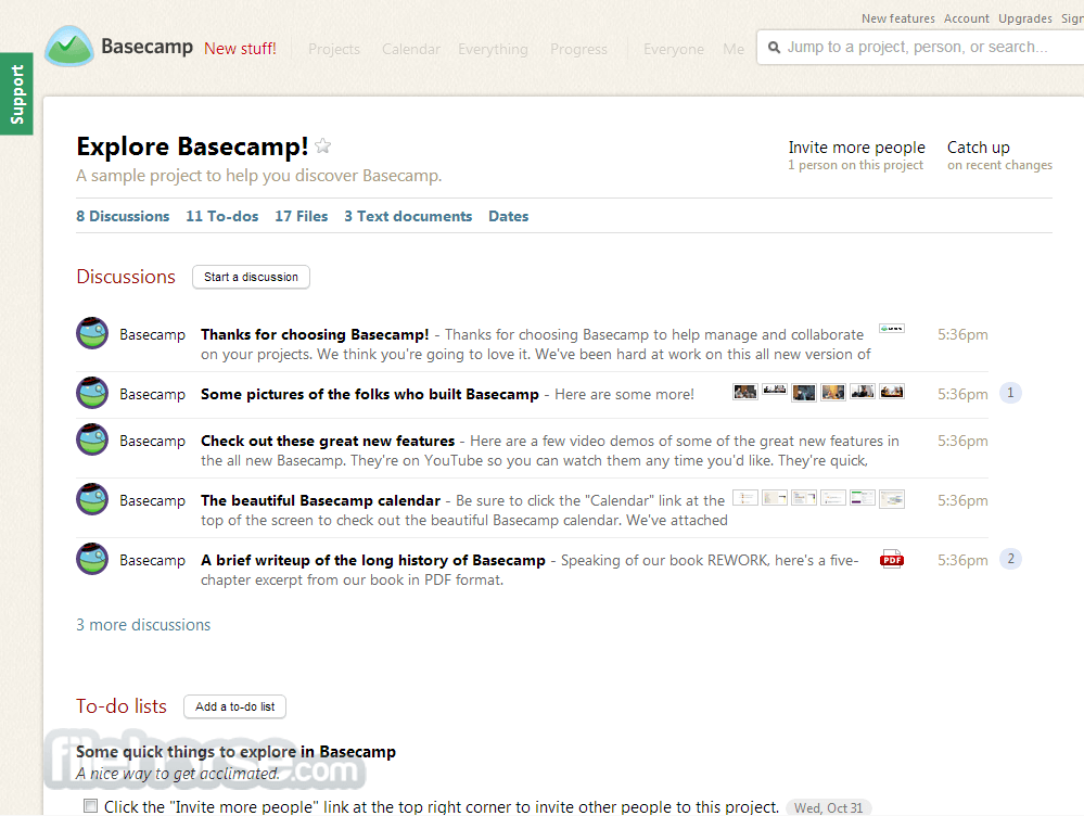 Basecamp Screenshot 3