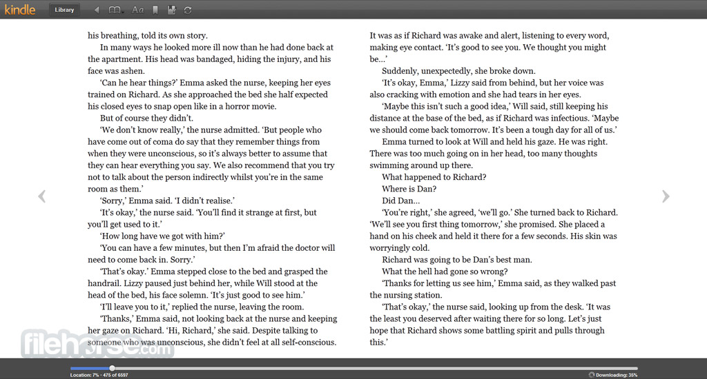 Kindle Cloud Reader Screenshot 2