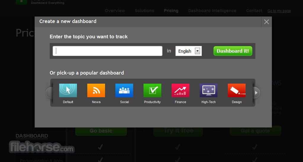 Netvibes Screenshot 1
