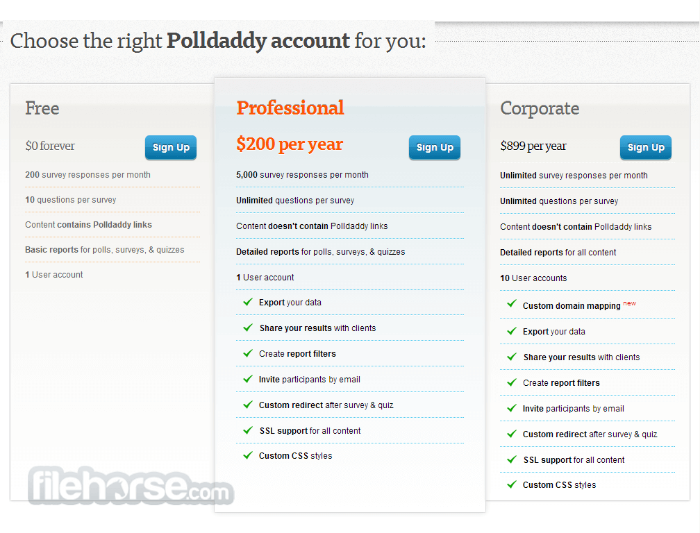 Polldaddy Screenshot 2
