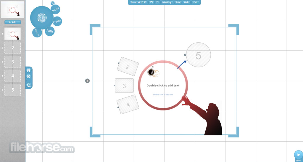 Prezi Screenshot 3