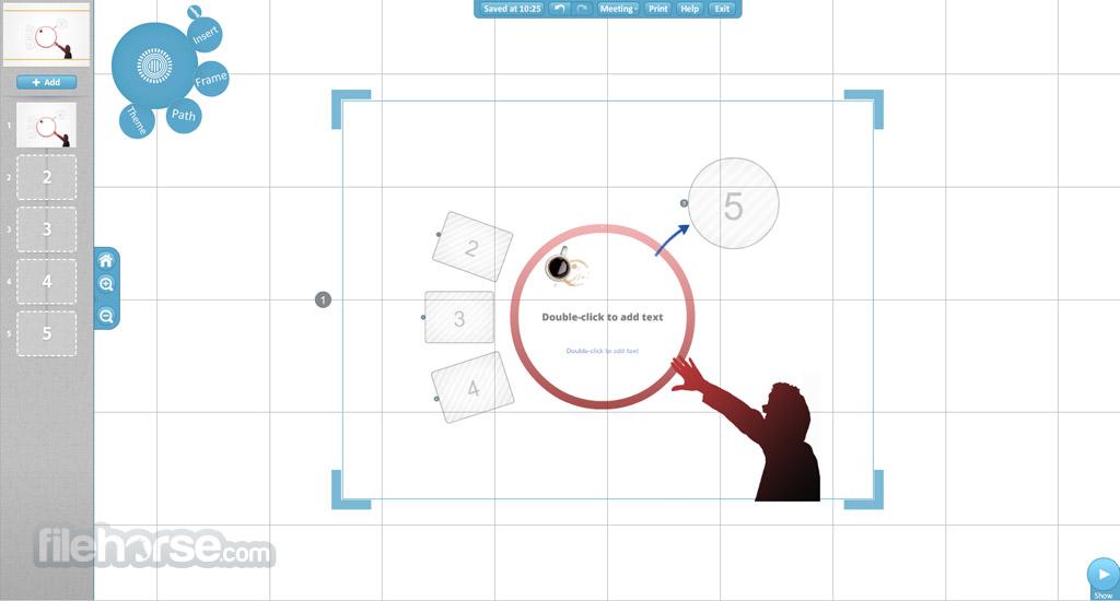 Prezi Screenshot 3