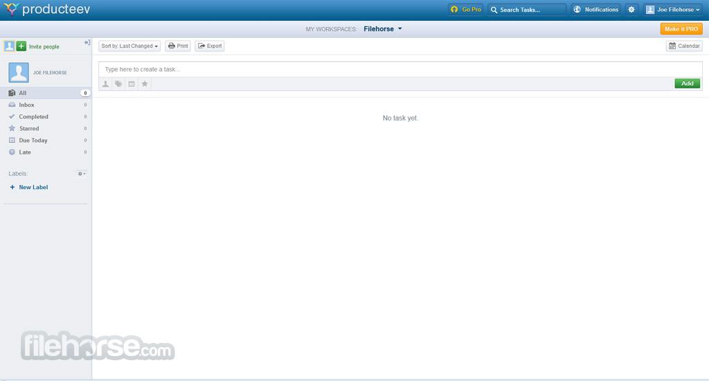 Producteev Screenshot 1