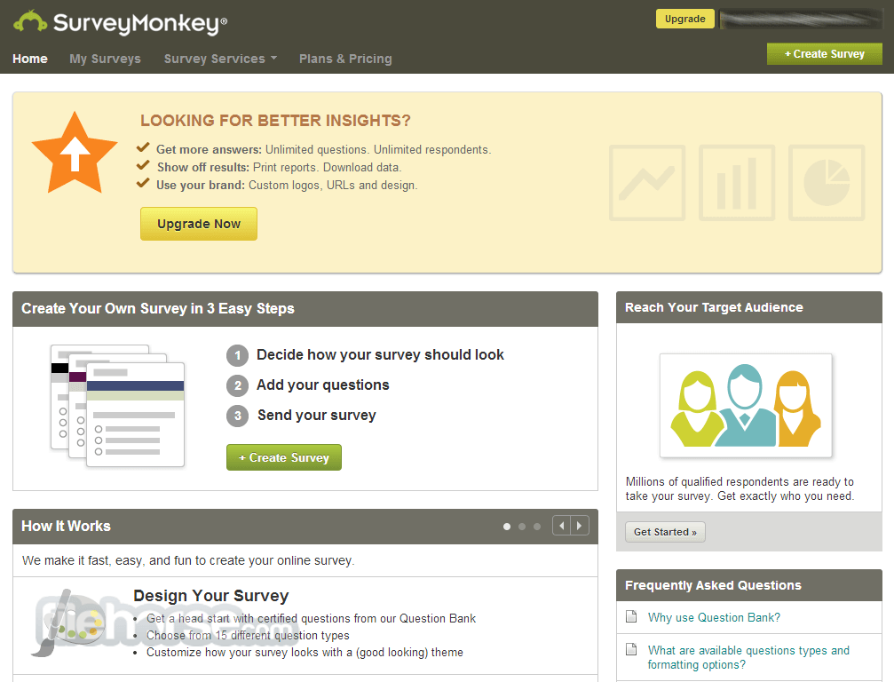 SurveyMonkey Captura de Pantalla 4