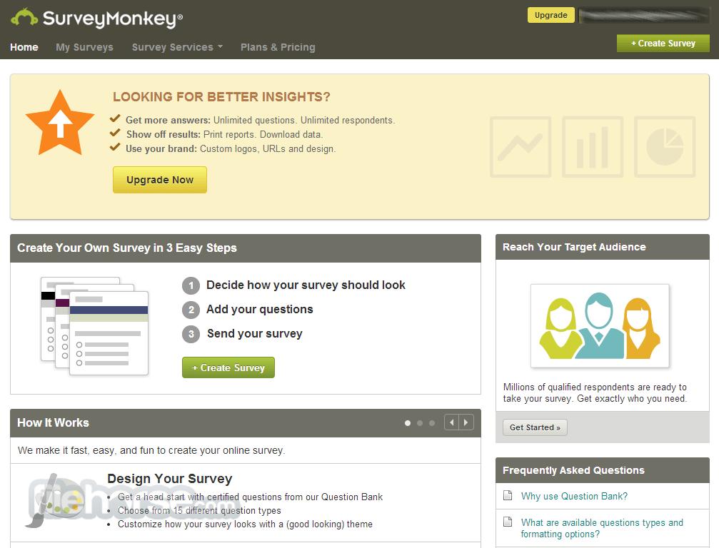 SurveyMonkey Screenshot 4
