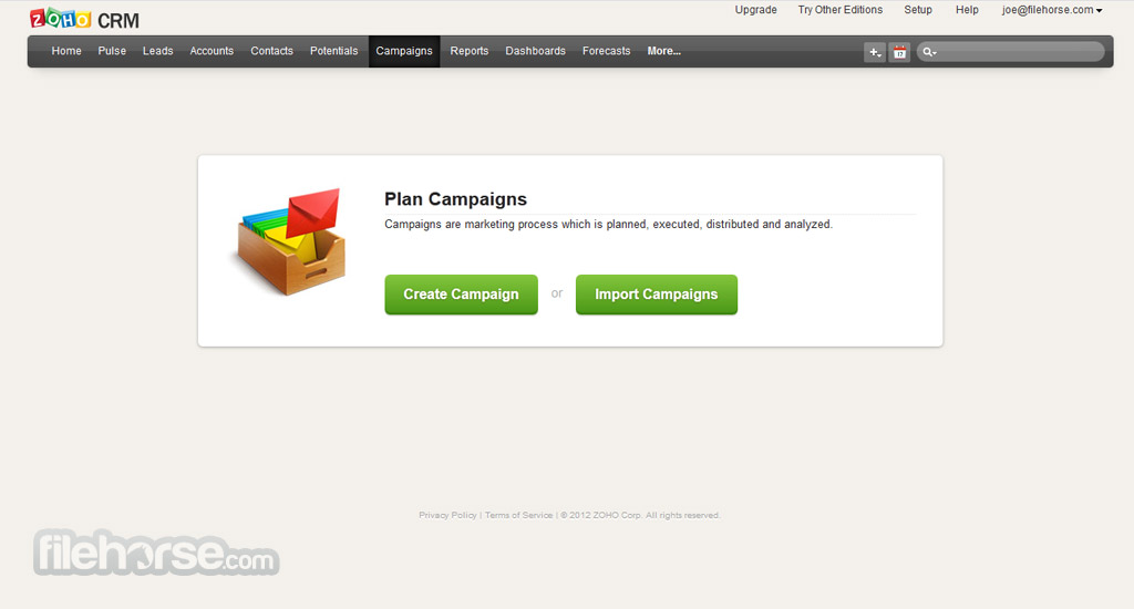 Zoho Screenshot 3