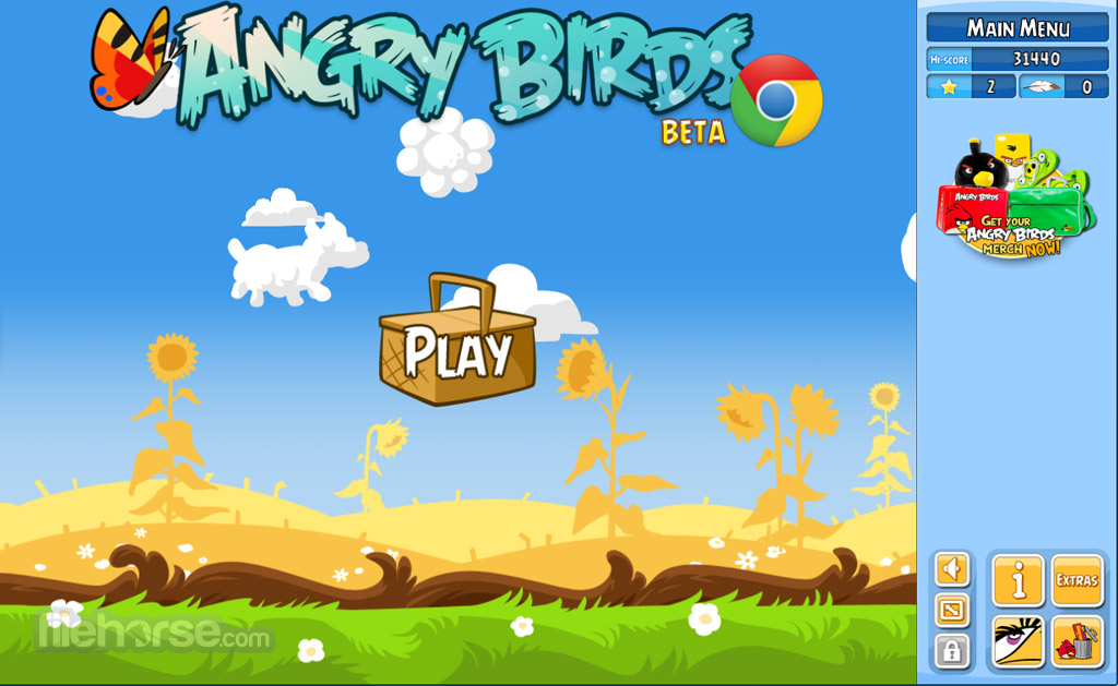 Angry birds review screenshots filehorse angry birds screenshot 1 voltagebd