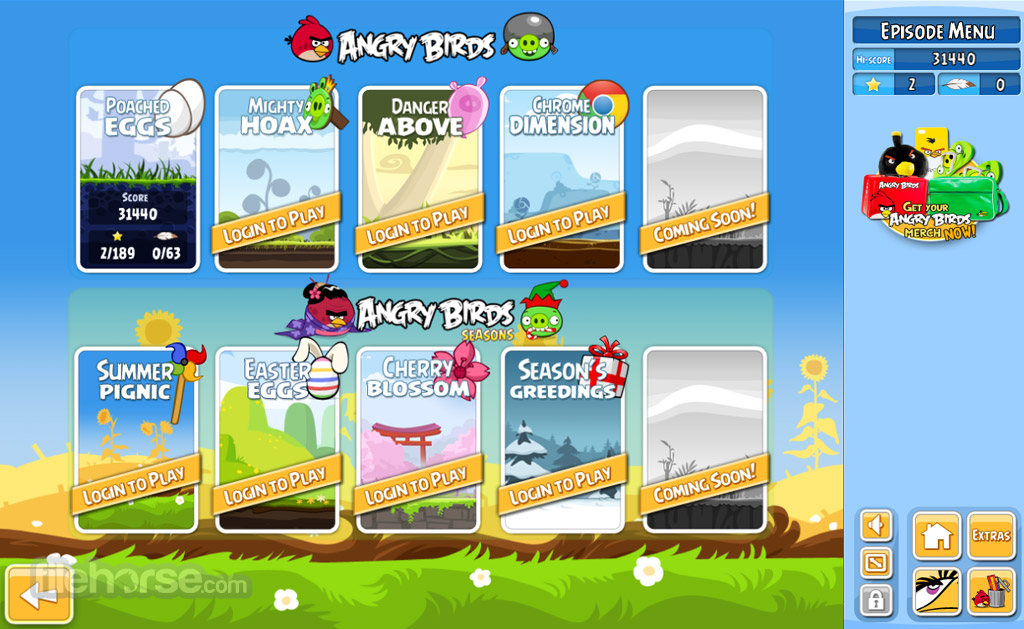 Angry Birds Screenshot 3