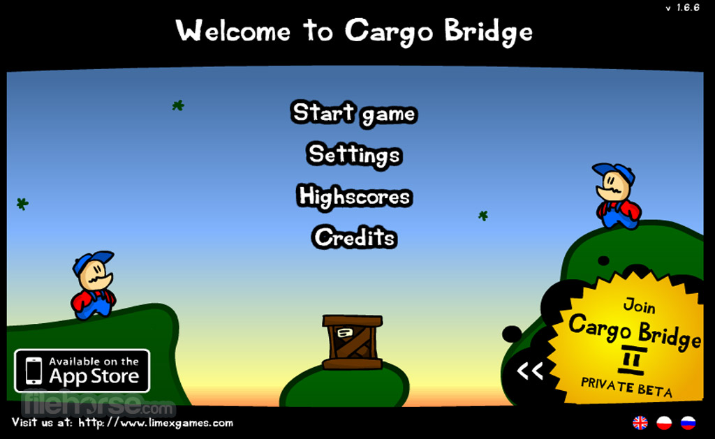 Cargo Bridge Captura de Pantalla 1