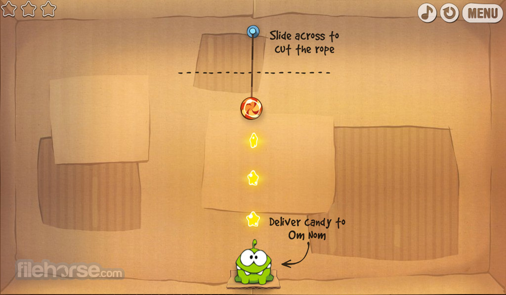 Cut the Rope Captura de Pantalla 2
