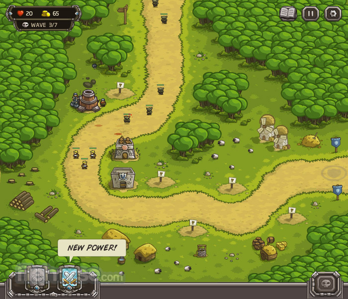 Kingdom Rush Captura de Pantalla 1
