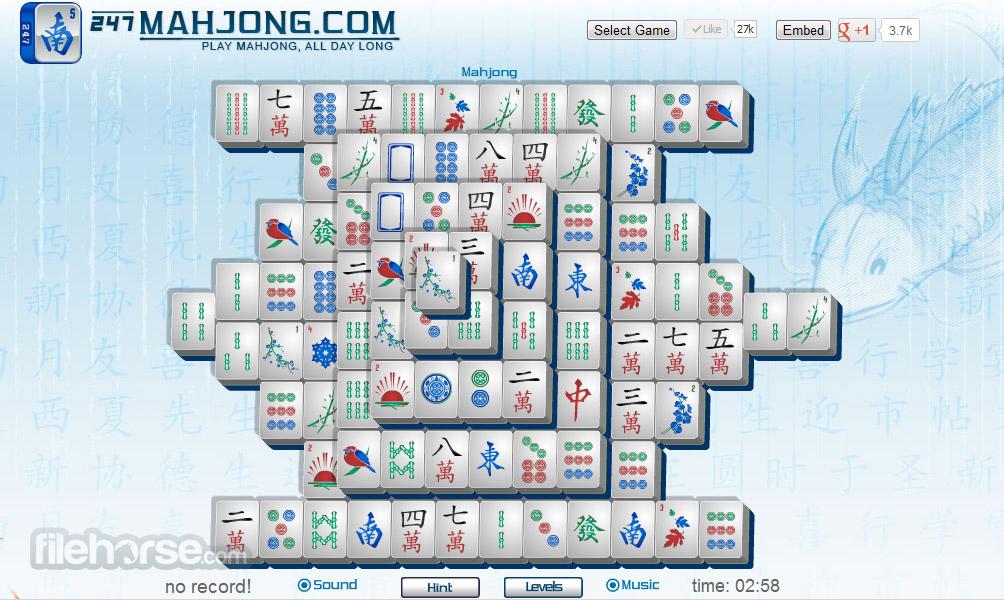 Mahjong Captura de Pantalla 1
