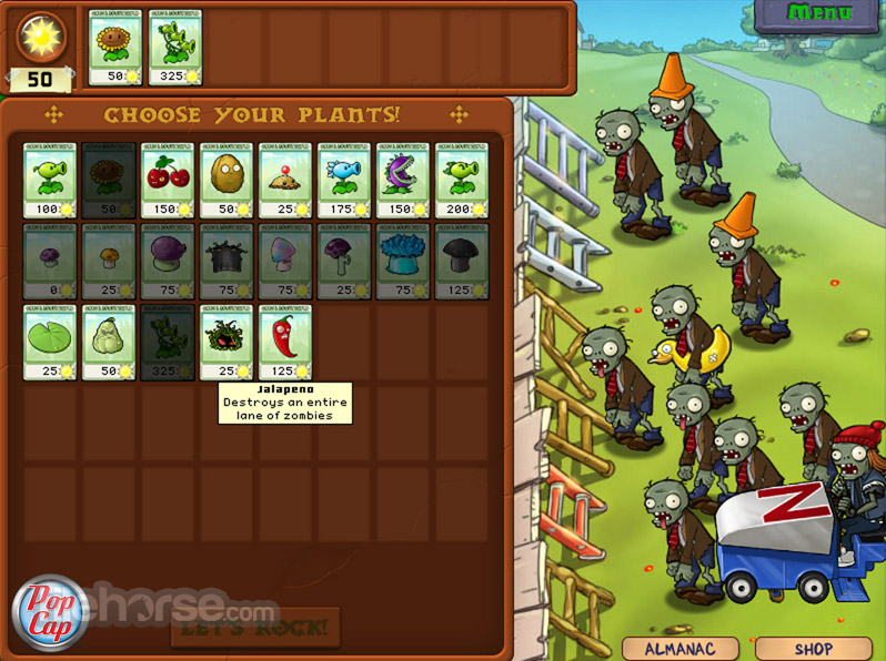 Plants vs Zombies Captura de Pantalla 2