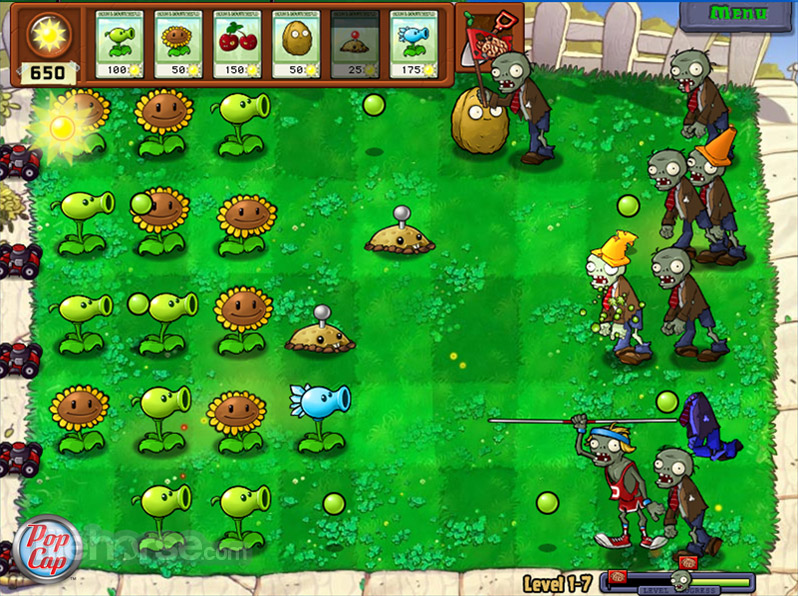 Plants vs Zombies Captura de Pantalla 4