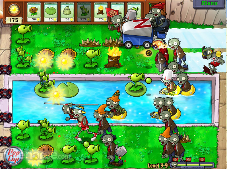 Plants vs Zombies Captura de Pantalla 5