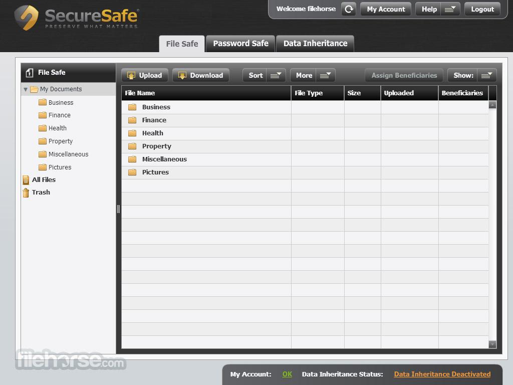 SecureSafe Captura de Pantalla 4