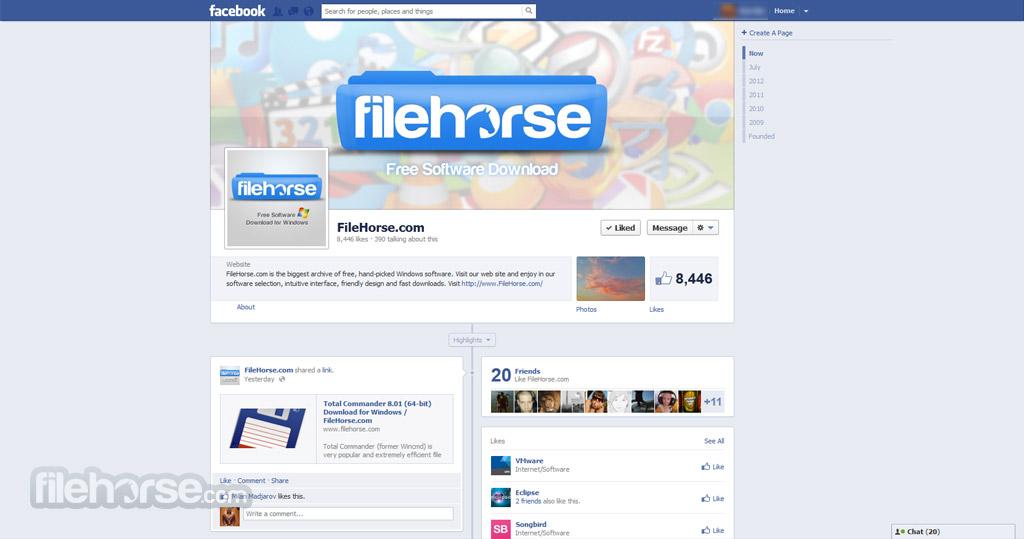 Facebook Captura de Pantalla 1